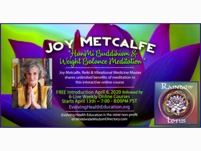 HanMi Biddihism & Weight Balance Meditation with Joy Metcalfe