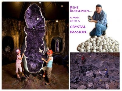 Crystal Caves Museum in Atherton
