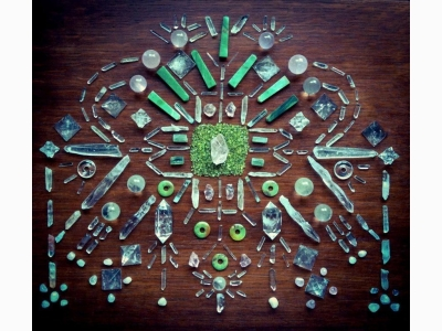 Woodlights Woudlicht - Crystal Grids