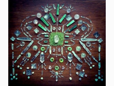WOODLIGHTS WOUDLICHT - Crystal Grid Healing