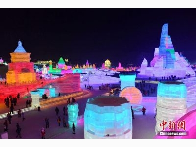 International Ice Snow Sculpture Festival | Dec.24, 2019 - Feb 20, 2020 | Harbin, China